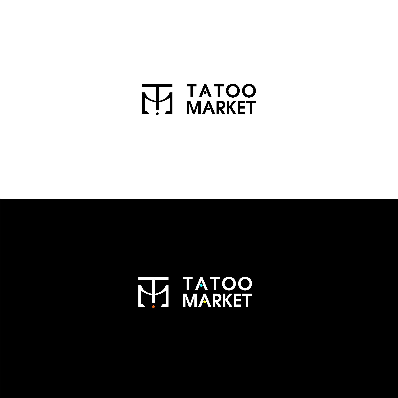 Редизайн логотипа магазина тату оборудования TattooMarket.ru фото f_0415c406247ae782.jpg