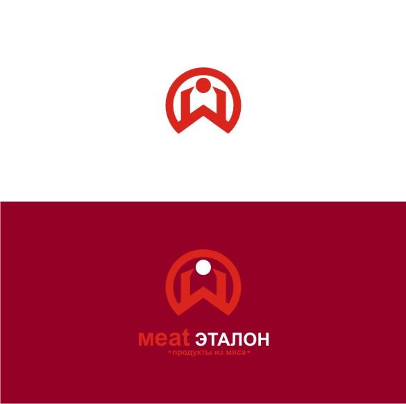 Логотип компании «Meat эталон» фото f_09756fb694981c04.jpg