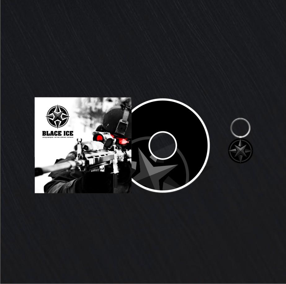 """Логотип + Фирменный стиль для компании """"BLACK ICE"""" фото f_12856ed4d521ffac.jpg"""