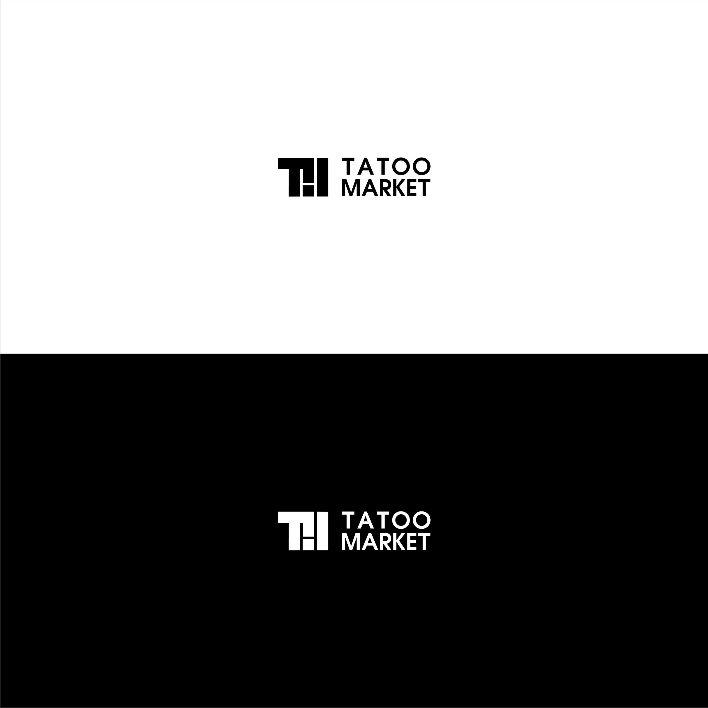 Редизайн логотипа магазина тату оборудования TattooMarket.ru фото f_1355c40703772db5.jpg