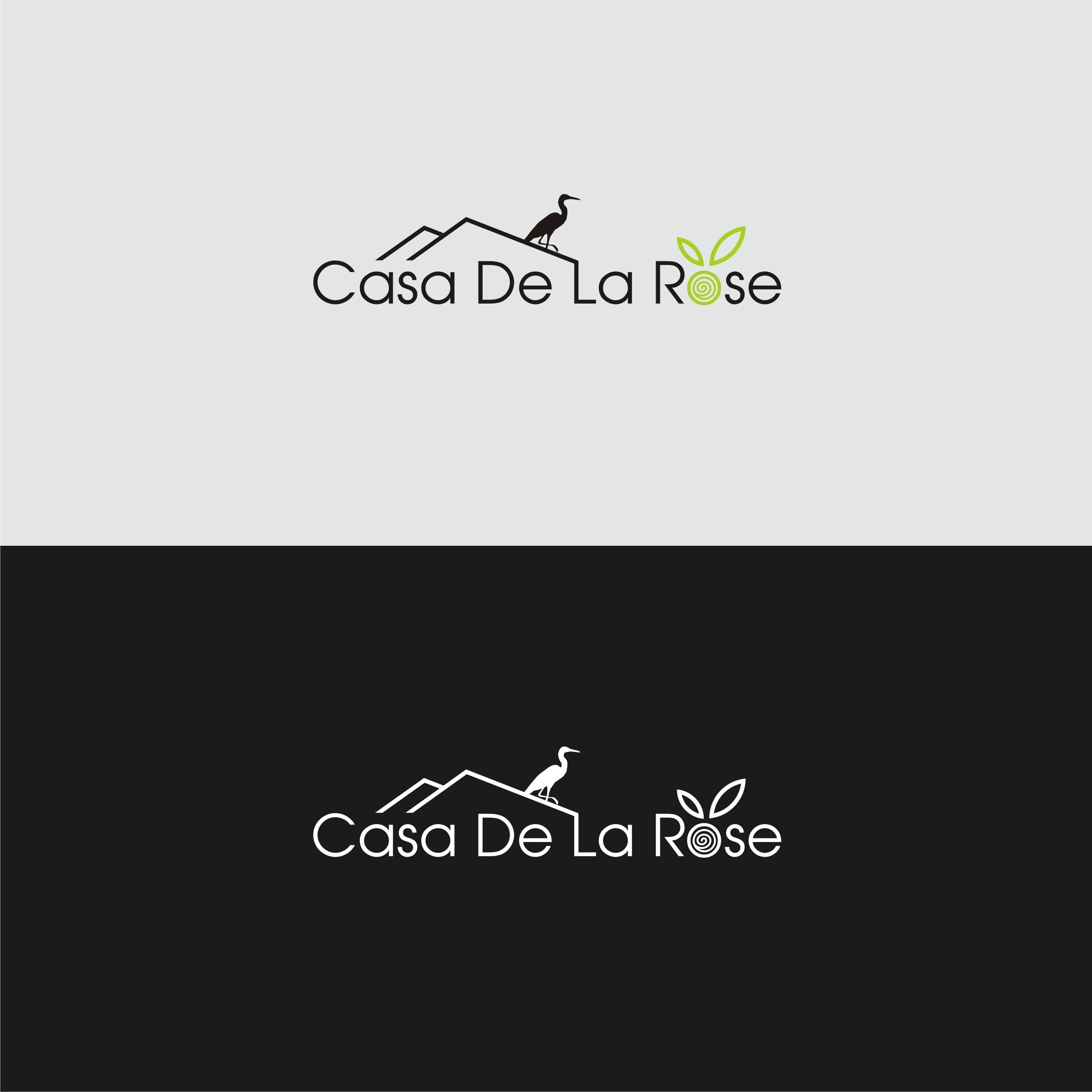Логотип + Фирменный знак для элитного поселка Casa De La Rosa фото f_3585cd815e09990e.jpg