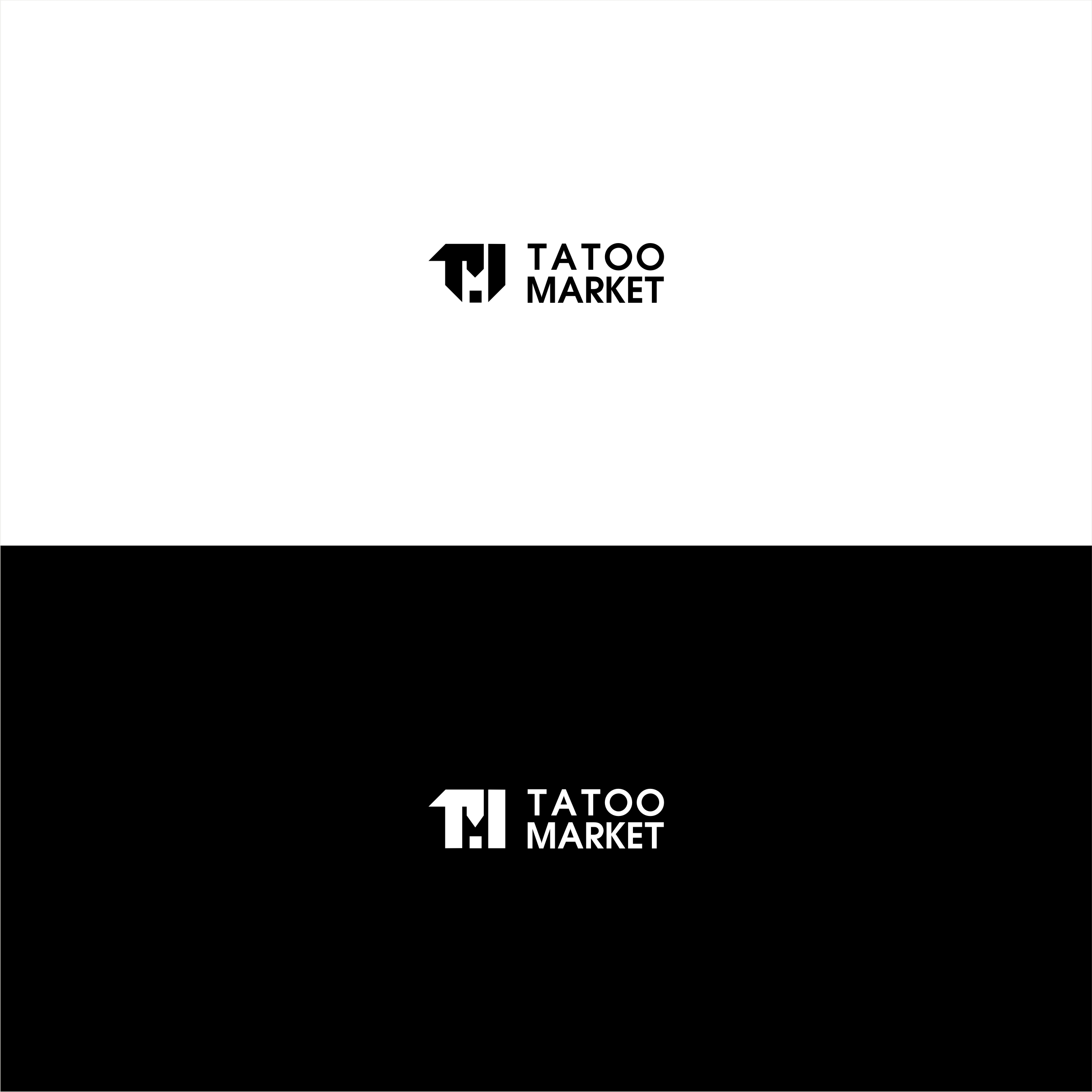 Редизайн логотипа магазина тату оборудования TattooMarket.ru фото f_3595c4071542fe2b.jpg