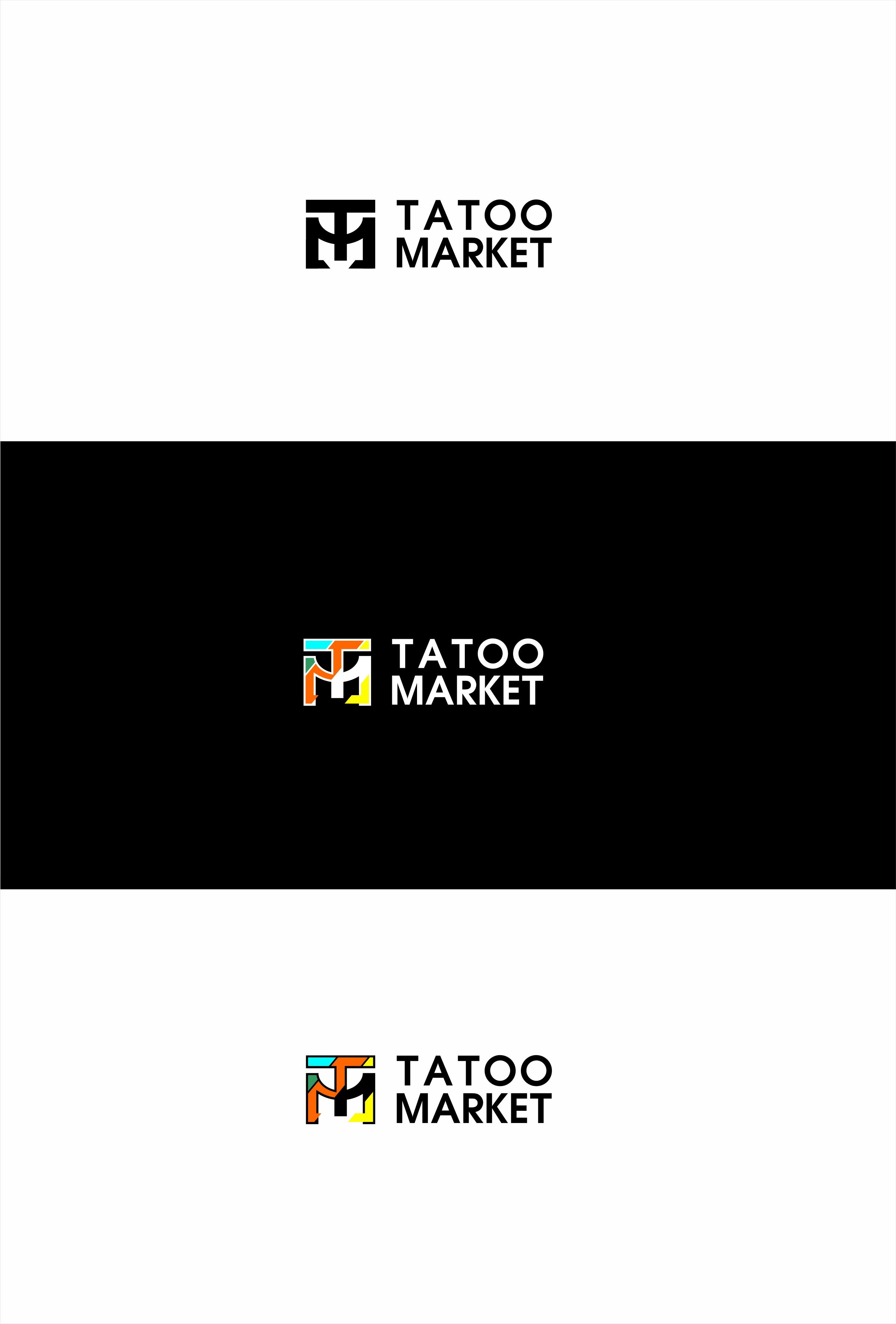 Редизайн логотипа магазина тату оборудования TattooMarket.ru фото f_3955c39da498c0fa.jpg