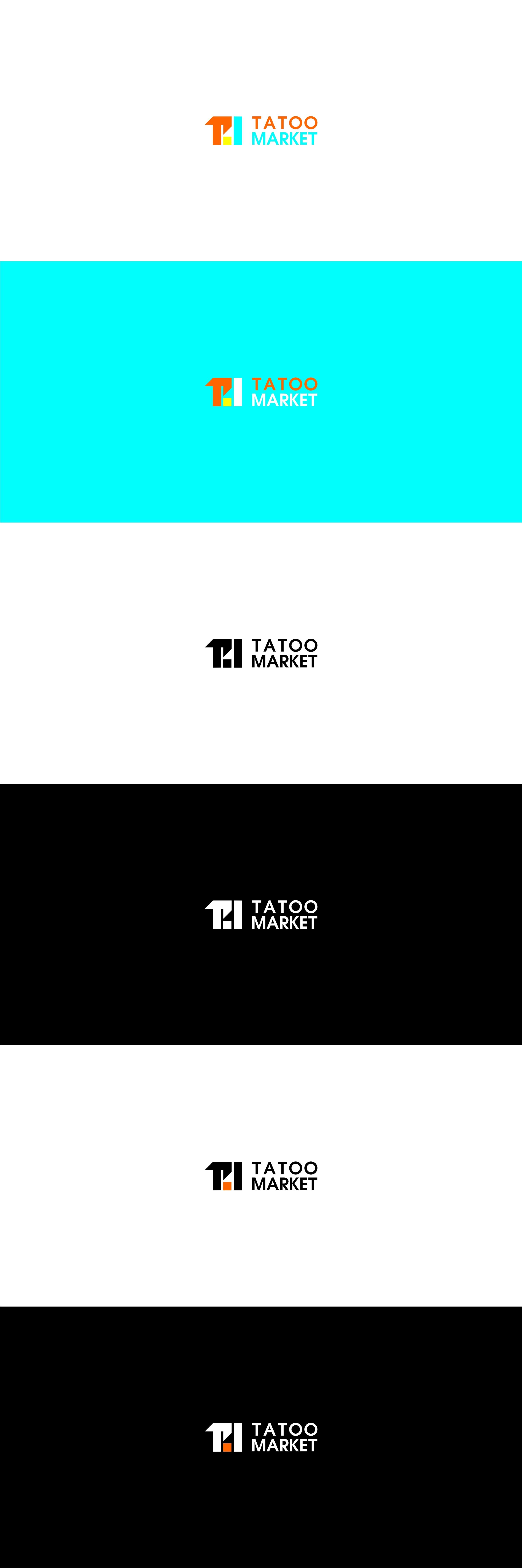 Редизайн логотипа магазина тату оборудования TattooMarket.ru фото f_4415c40752898895.jpg