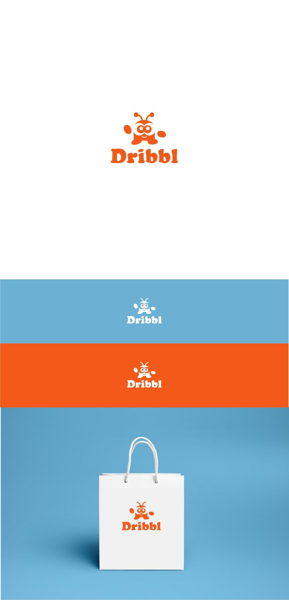Разработка логотипа для сайта Dribbl.ru фото f_8875aa24f1f6cf2f.jpg