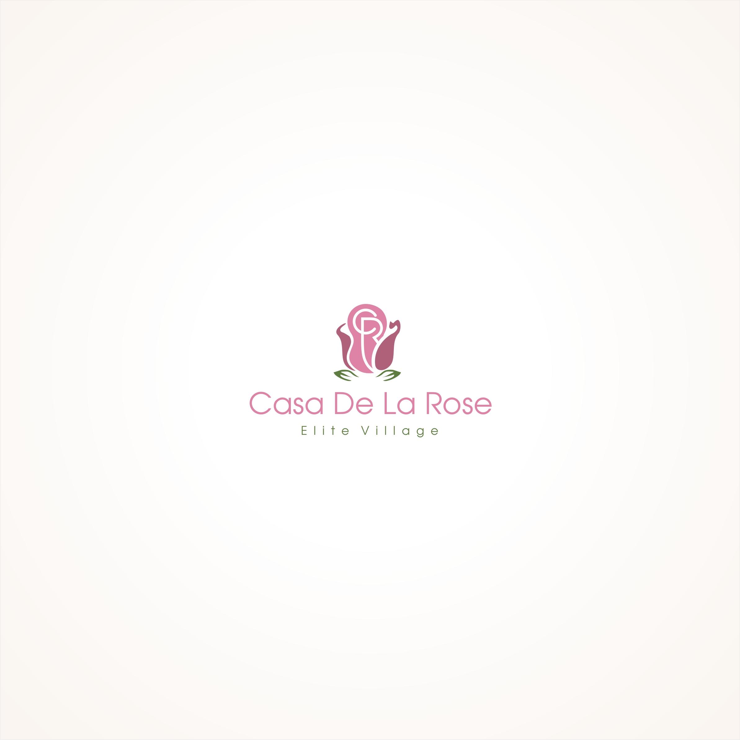 Логотип + Фирменный знак для элитного поселка Casa De La Rosa фото f_9845cd970396bfcf.jpg