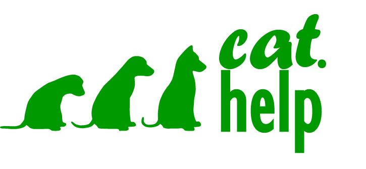 логотип для сайта и группы вк - cat.help фото f_15659dbe1e733dde.jpg