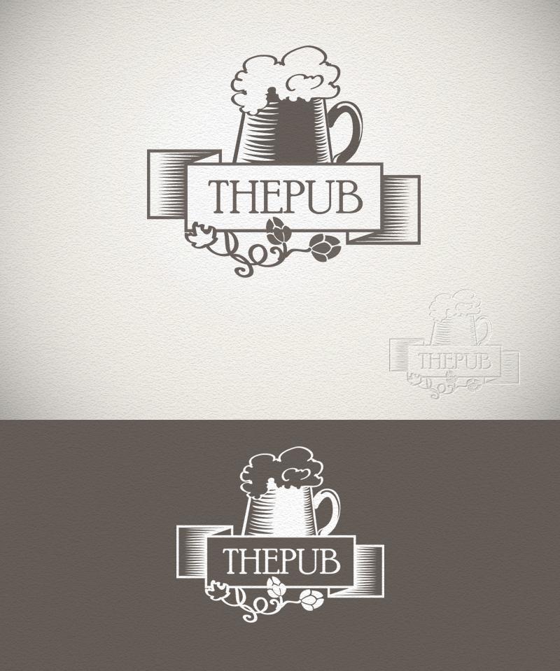 """Разработка логотипа торговой марки """"THEPUB"""" фото f_96151e1a23a804e8.jpg"""