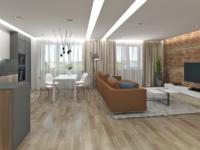 Дизайн-проект (визуализации и чертежи) – квартира около 100 м2