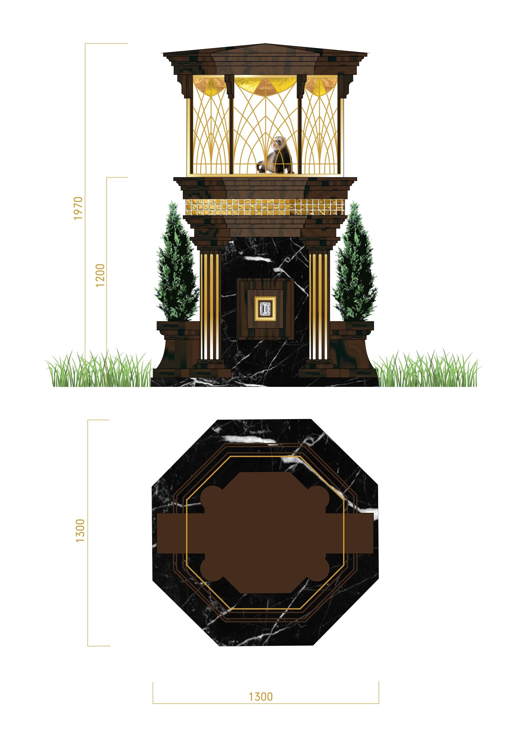 Дизайн конструкции для размещения в ней живого соболя фото f_19756fe885b0859f.jpg