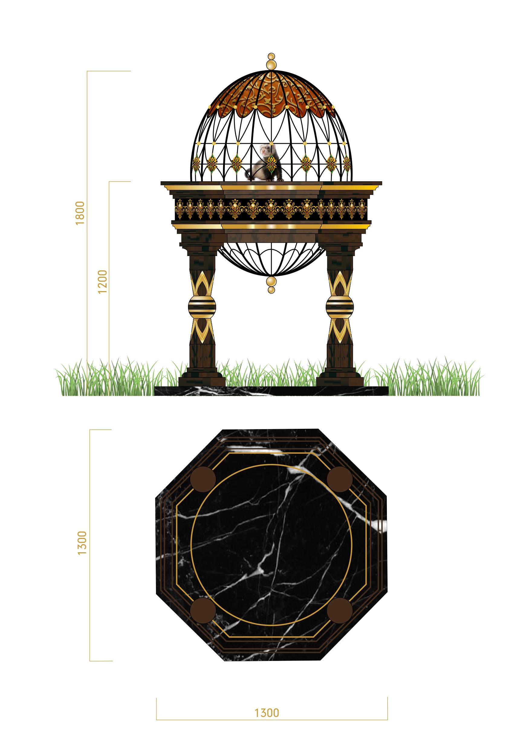 Дизайн конструкции для размещения в ней живого соболя фото f_43756fe8865af64b.jpg
