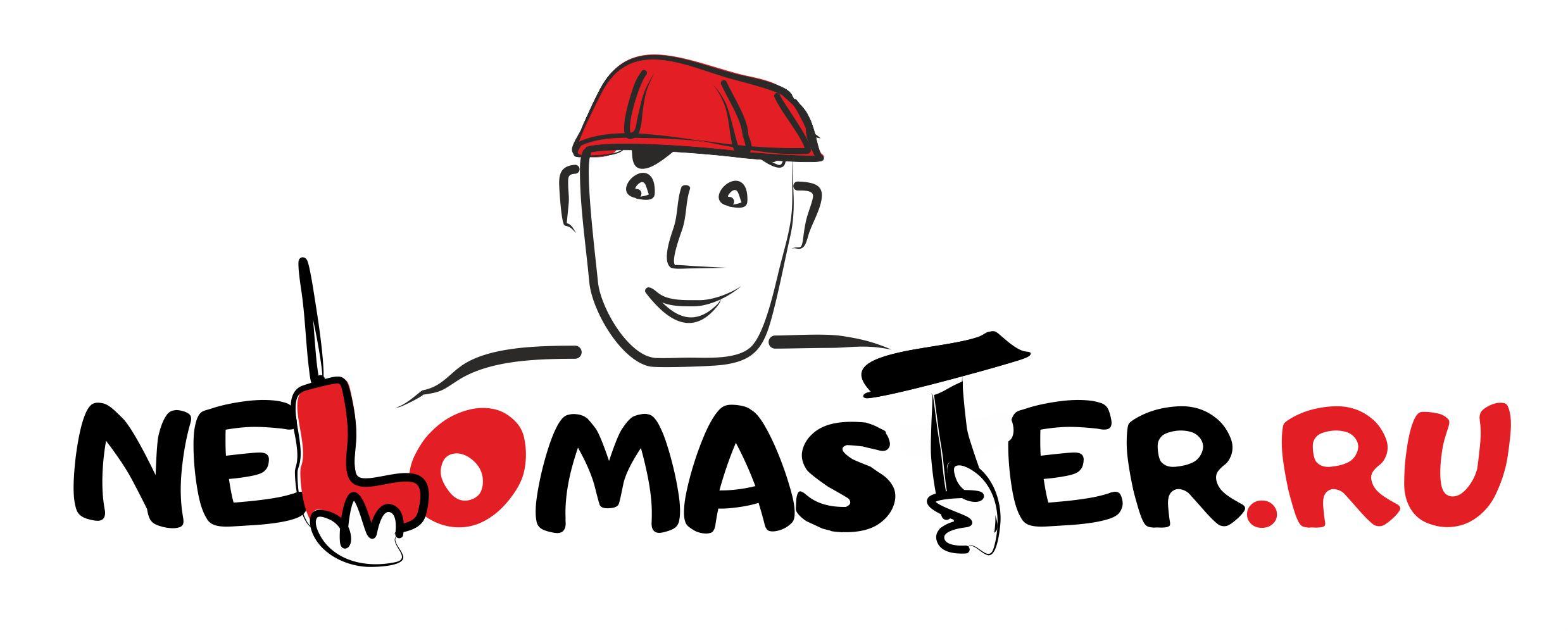 """Логотип сервиса """"Муж на час""""=""""Мужская помощь по дому"""" фото f_5955dc039f8471e7.jpg"""