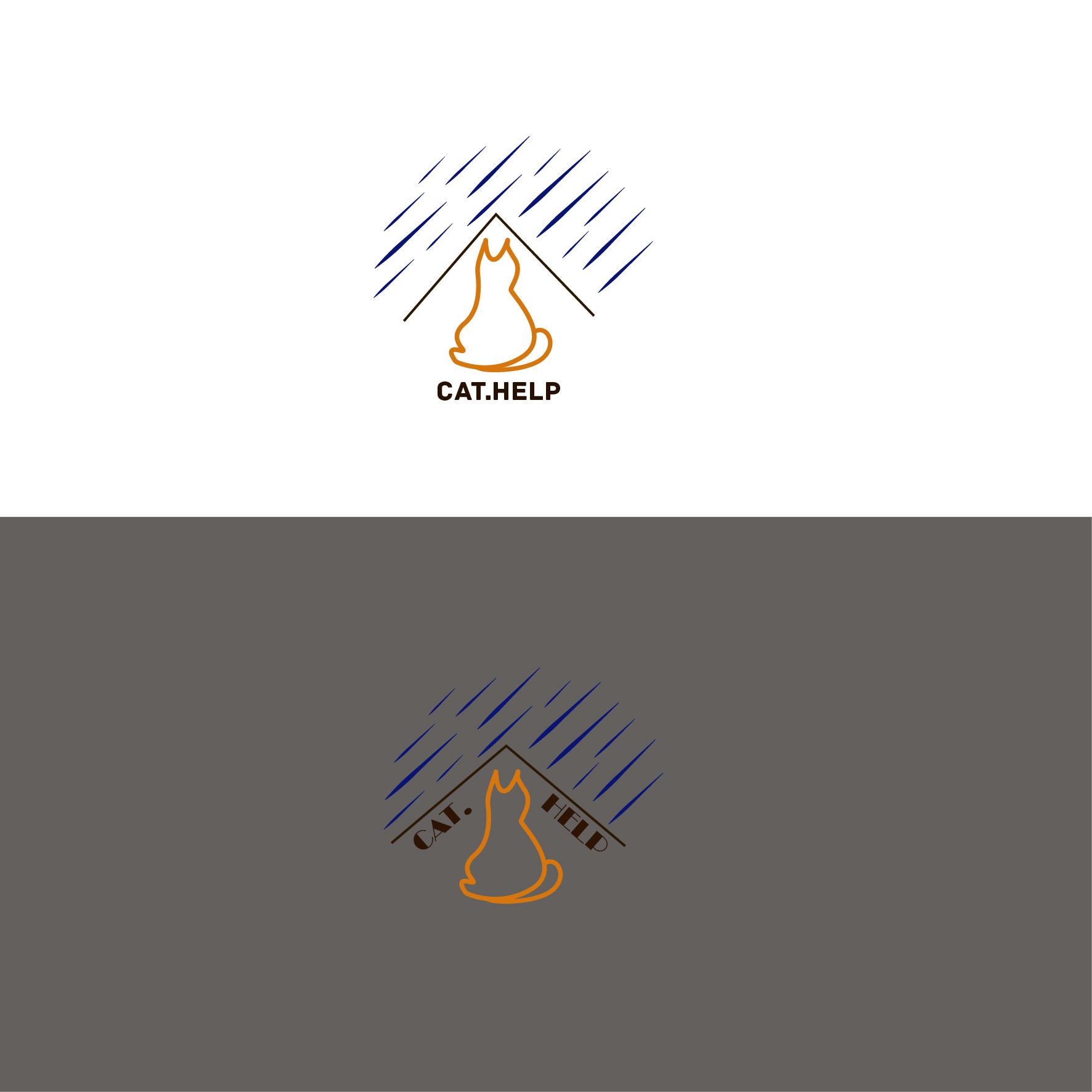 логотип для сайта и группы вк - cat.help фото f_78459dbc151b8ccf.jpg