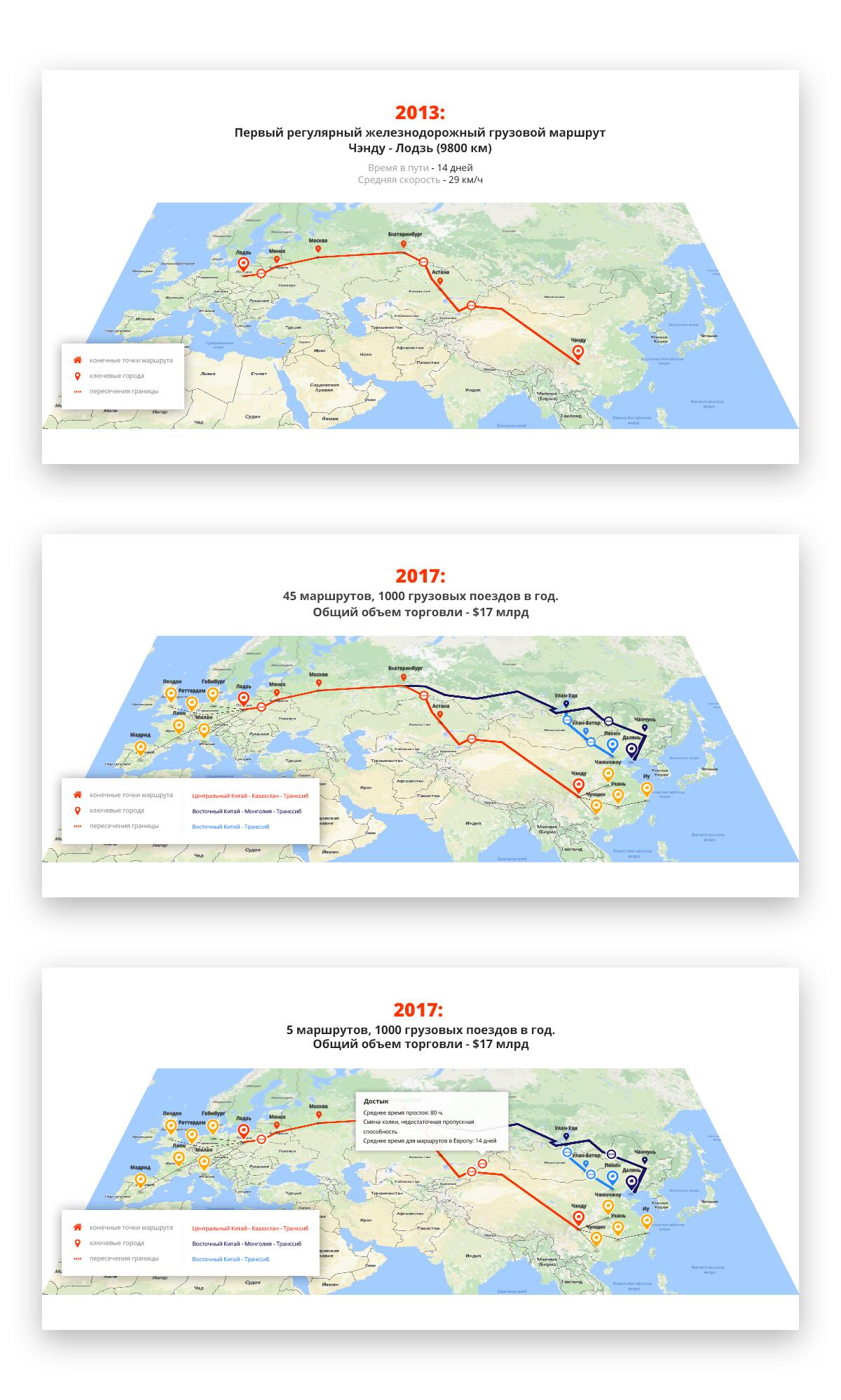 Карты железнодорожный маршрутов