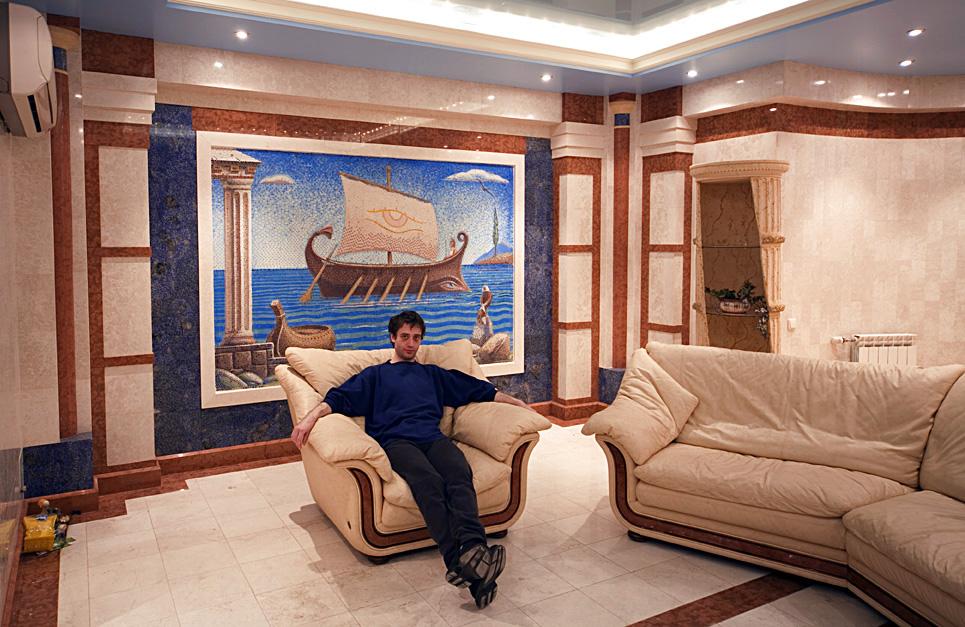 Приватный жилой дом в Крылатском_автор интерьера