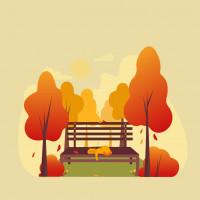 Иллюстрация. Осень