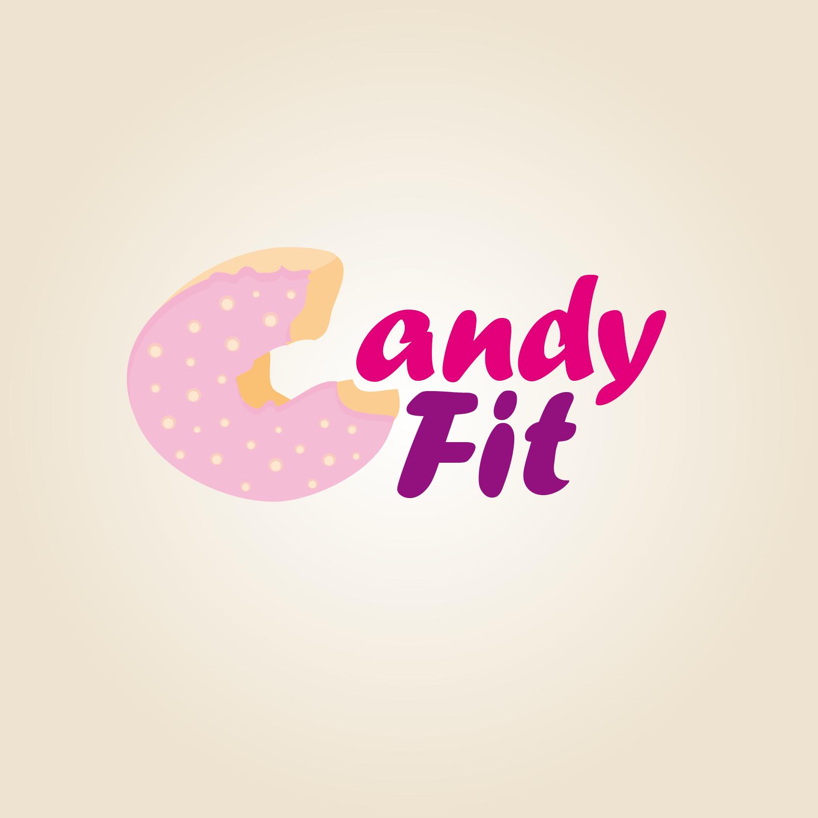"""Разработать логотип для """"CandyFit"""" фото f_45551e6e8ed8b8f3.png"""
