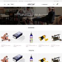 Дизайн интернет-магазина тату товаров