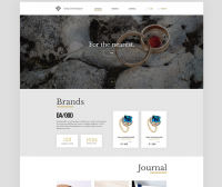 Сайт ювелирного магазина