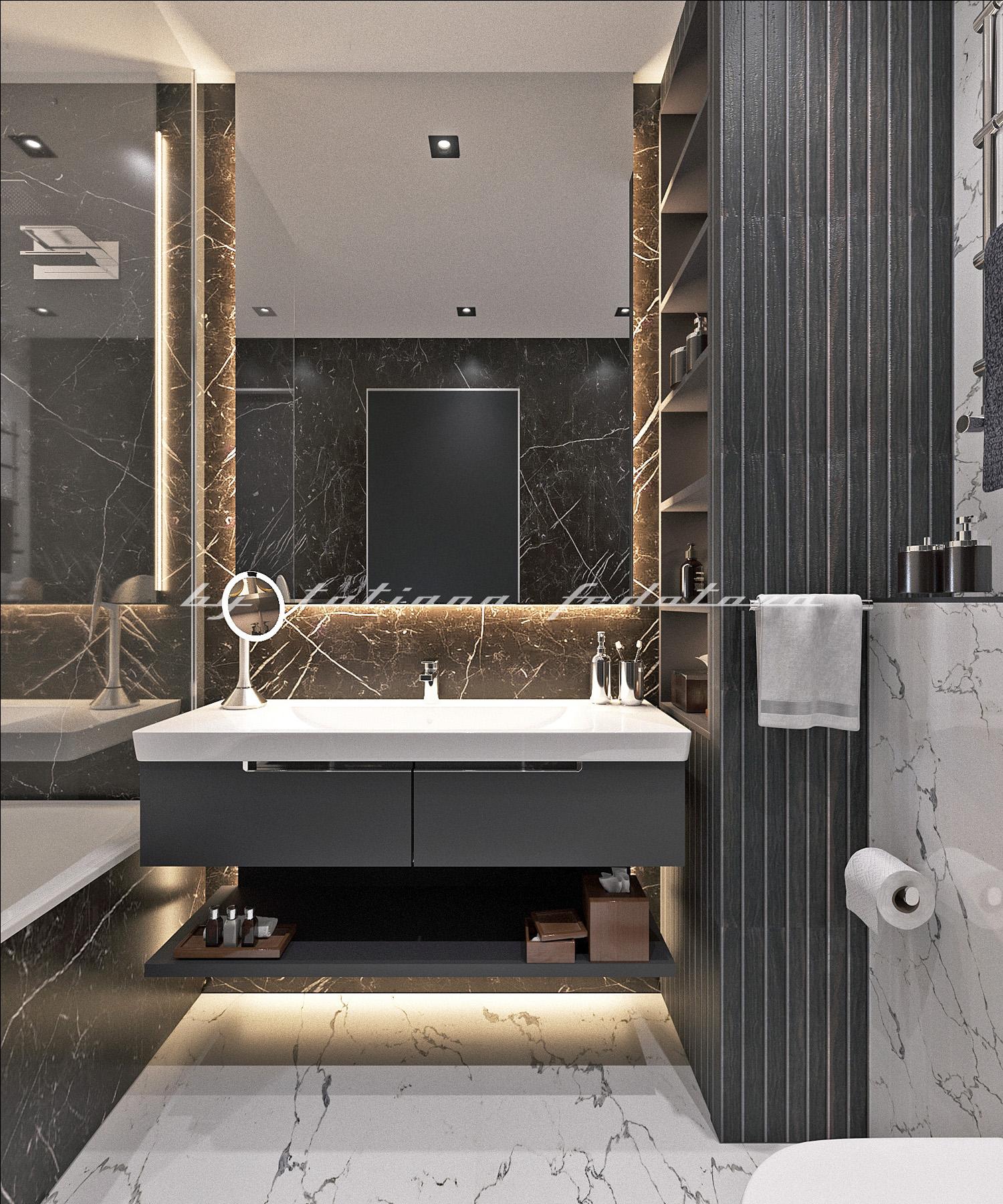 Квартира Москва ванная