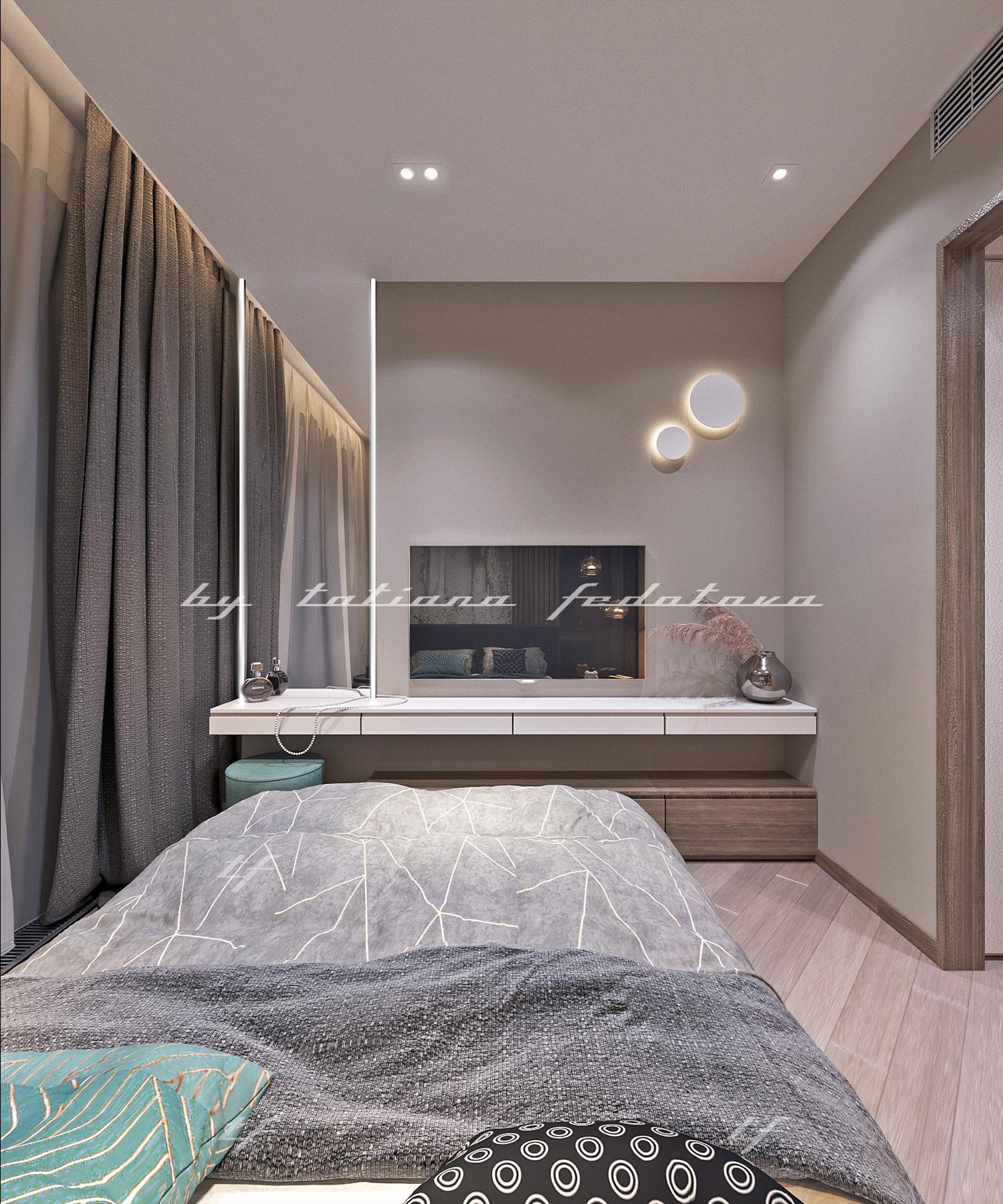 Квартира Москва спальня