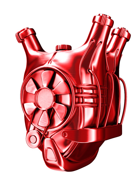 Сердце-мотор