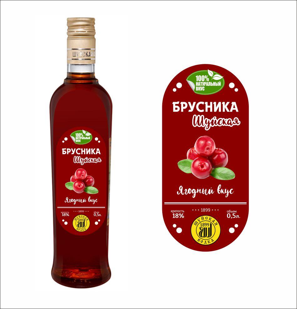 Дизайн этикетки алкогольного продукта (сладкая настойка) фото f_3945f907d2832cdd.jpg