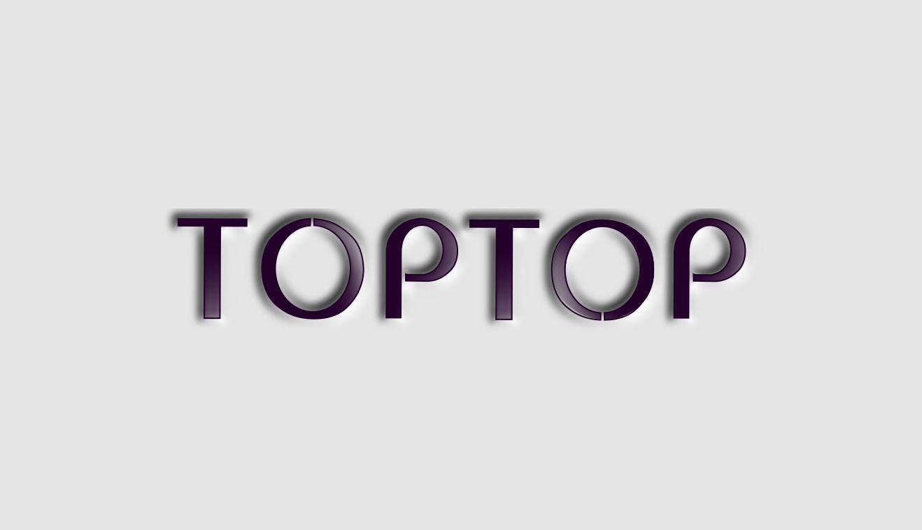 Редизайн логотипа  toptop.ru