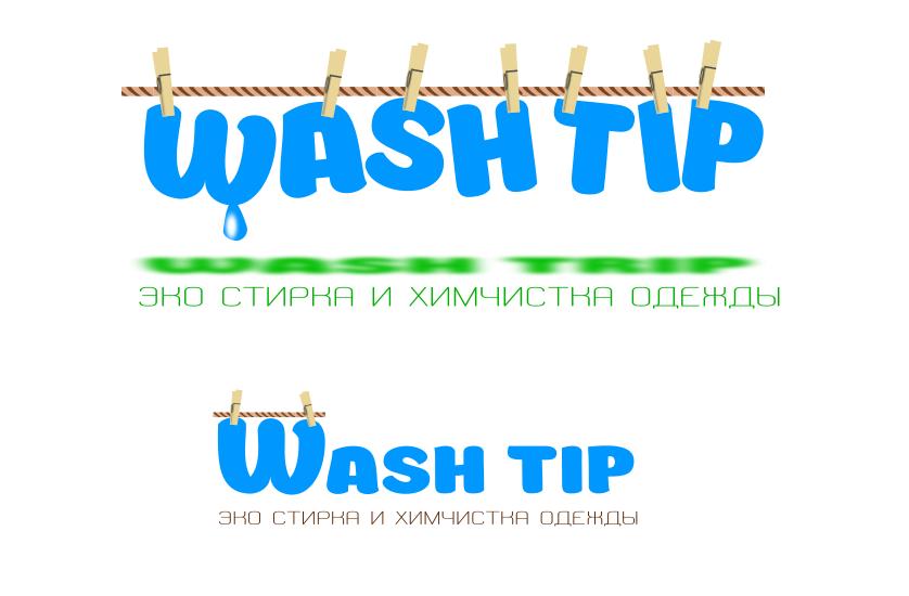 Разработка логотипа для онлайн-сервиса химчистки фото f_4955c052eec000b7.png