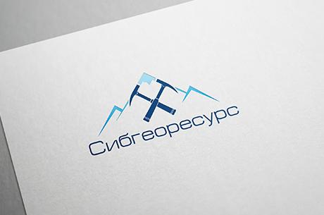 "Логотип компании ""Сибгеоресурс"""