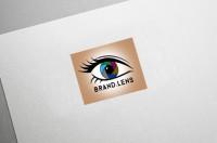 Логотип Для Магазина Линз Brand Lens