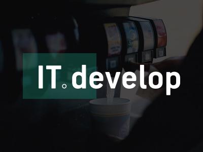 IT develop logotype