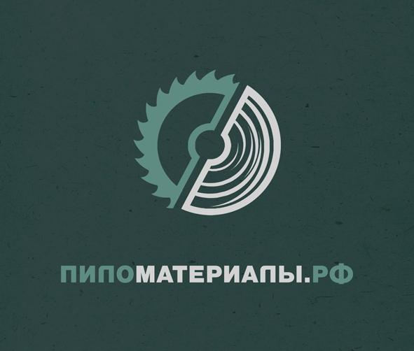 """Создание логотипа и фирменного стиля """"Пиломатериалы.РФ"""" фото f_10352f3b87569cef.jpg"""