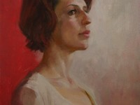 Портрет маслом на холсте с натуры