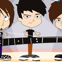Сайт рок группы Note