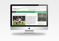 Главная страница футбольного портала