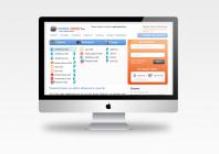 Дизайн главная exchange-credit.ru (продается)