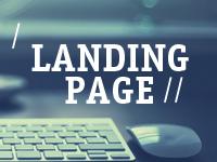 Landing page – качество, высокая конверсия.