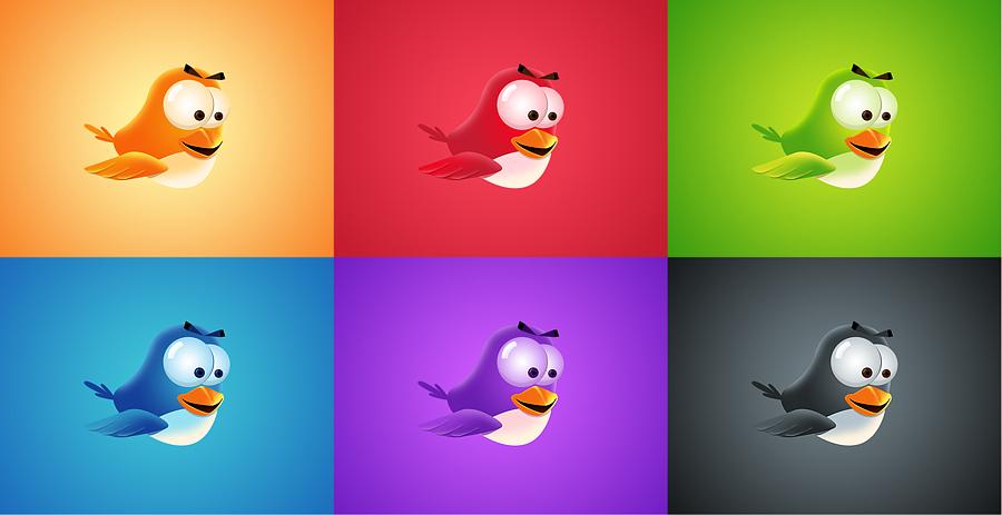 FLAPPY BIRDS THE WORLD by IOS