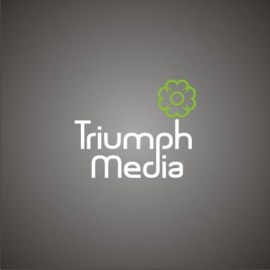 Разработка логотипа  TRIUMPH MEDIA с изображением клевера фото f_5072ebea673cf.jpg