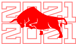 Создать рисунки быков, символа 2021 года, для реализации в м фото f_5915ee38f948a0a2.png