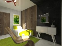 дизайн спальни в эко стиле