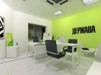 """дизайн офиса для редакции журнала """"ДЕРЖАВА"""" помещение руководителя"""