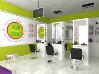 """Дизайн парикмахерской """"люди как люди"""""""