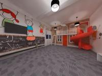 Визуализация интерьера (детская комната)