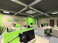 Офисное помещение дизайн