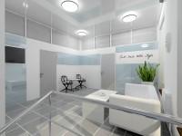 холл второго этажа стоматологической клиники