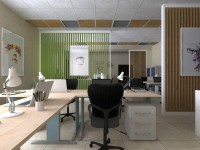 Дизайн офиса типографии