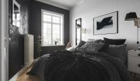 Дизайн спальни в скандинавском стиле/ 3D Max+Corona