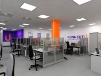 """дизайн офиса для фирмы """"konnteкt U"""""""